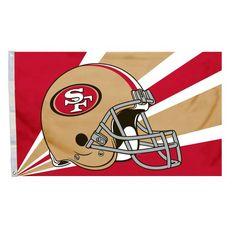 NFL San Francisco 49Ers 3-by-5 Foot Helmet Flag Fremont Die http  · NhlSan  ... 0dfa3ea6d
