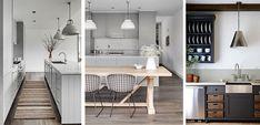 Decora tu cocina en tonos grises - http://www.decoora.com/decora-tu-cocina-en-tonos-grises.html