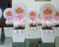Centro de mesa Princesas