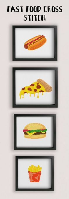 food cross stitch patterns modern cross stitch