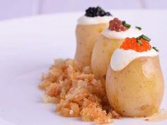 Receta | Papines y caviar - canalcocina.es