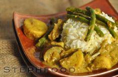 Vietnamese Curry -ca ri chay! Veggie Recipes, Asian Recipes, Vegetarian Recipes, Cooking Recipes, Ethnic Recipes, Veggie Meals, Asian Foods, Tofu Curry, Curry Soup