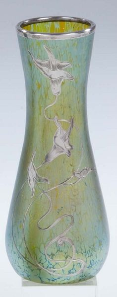 Vase Loetz 'Creta Papillon' Glass Art deco Nouveau