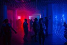 vaporwave blue Then it happens. The lig - vaporwave Amaterasu, The Neon Demon, Neon Noir, Neon Nights, Purple Aesthetic, Expo, Neon Lighting, Vaporwave, Neon Colors