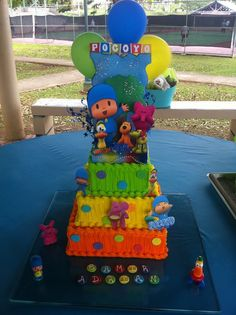Pocoyo cake! this one is awesome!