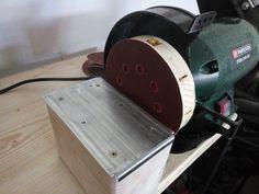 schleifbock umbauen auf tellerschleifer Bauanleitung zum selber...