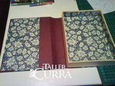 Por fin.. caja libro en cartonnage.. con paso a paso.. cutre - Foro Manualidades - MundoRecetas.com