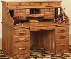 """Rolltop Desks 62"""""""