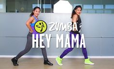 Zumba Fitness with Kristie and Allysiu http://www.liveloveparty.tv Choreography by: ZES Prince Paltu-ob Song: Hey Mama by David Guetta ft. Nicki Minaj & Afro...