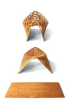 Rising furniture by Robert Van Embricqs
