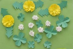 Preschool Crafts, Diy Crafts For Kids, Paper Art, Paper Crafts, Spring Is Coming, Origami Easy, Paper Toys, Handmade Flowers, Paper Flowers