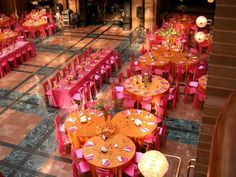 Small groupings of tables look interesting Table Layouts - #wedding #layout #event
