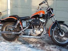 Photo of 1973 Harley Sportster XLCH Ironhead by Rick.