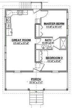 Image Result For Servant Quarters Designs Cottage Floor Plans Building Plans House House Floor Plans