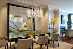glass top tabled for dining room design and decorating ideas