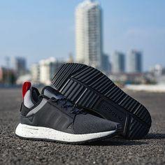new styles cbfa8 b76a0 Adidas X Plr NMD Black Grey White Red Original Shoe