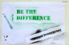 Be the difference! FestEssted Think outside the box