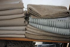 Hemp Fabrics. Just a small selection to wet your appetite