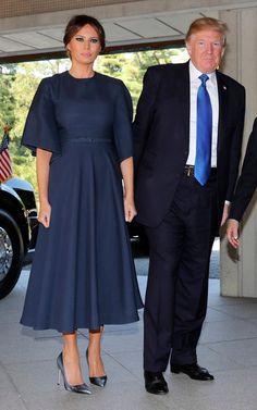 Dior navy dress Japan