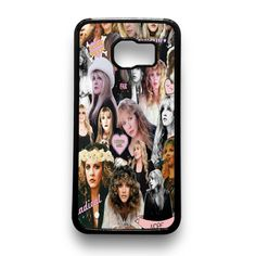 Shop Stevie Nicks Collage Samsung Cases for Samsung Galaxy S7 case, Galaxy S6 Edge, S6 S5 S4 and Galaxy Note Edge Cover. Sale at $15