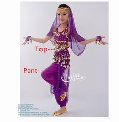 b753c2879eedc New Handmade Children Belly Dance Costume Set Kids Belly Dancing Girls  Bollywood Indian