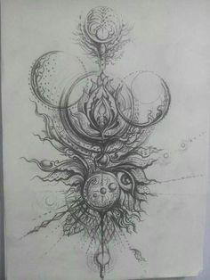 badass tattoo ideas that you really want to try – Tattoo Sketches & Tattoo Drawings Badass Tattoos, Body Art Tattoos, New Tattoos, Sleeve Tattoos, Cool Tattoos, Awesome Tattoos, Tatoos, Pretty Tattoos, Mandala Tattoo Design
