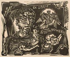 Art-exlibris.net - ex libris di Remo Wolf EE Stefanowskij