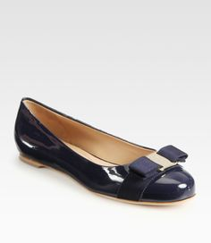 Love this: Varina Patent Ballet Flats @Lyst