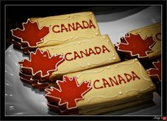 Canada Day Cookies, via Flickr.