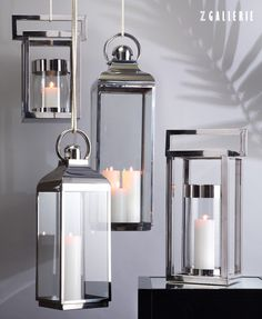 Light up the night with chic + sophisticated lanterns.