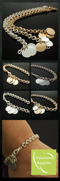 My First Chainmaille Bracelet KIT - Perfect for Beginners - Fun For Experienced Jewelry Makers