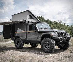 American Expedition Vehicles (AEV) is a manufacturer of off-road and overland vehicle parts and accessories as well as turnkey off-road vehicle packages. They been outfitting otherwise standard pickup trucks with some serious off-road goodies Jeep Wrangler Camper, Jeep Wrangler Off Road, Jeep 4x4, Jeep Wrangler Unlimited, Jeep Srt8, American Expedition Vehicles, Expedition Truck, Off Road Camping, Jeep Camping