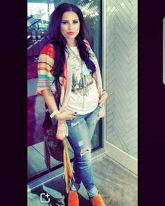 "469 Likes, 3 Comments - Jolene Hamilton (@the_wacky_wagon) on Instagram: ""Beautiful customer/friend alert Justine rockin' her Wild Apache Trading tee! #thewackywagon…"""
