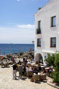 Vermut vora el mar  Calella de  Palafrugell  Empordà  Catalonia