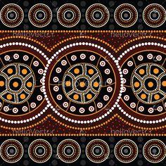 Aboriginal Art Symbols, Aboriginal Dot Painting, Dot Art Painting, Painting Patterns, Norse Symbols, Mayan Symbols, Egyptian Symbols, Ancient Symbols, Vector Background