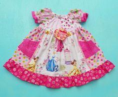 Twirly Princess Dress by WildOliveKids on Etsy, $32.00