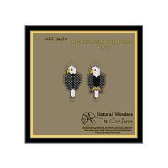 Bald Eagle m4-5 brick / peyote stitch by NaturalWondersByCari