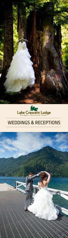 Planning a wedding or social event? Olympic National Park & Forest has a place for you! Check out Lake Crescent Lodge on the Olympic Peninsula in northwest Washington state.