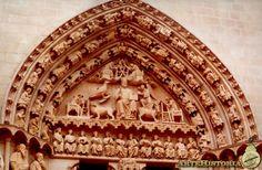 Catedral de Burgos. Puerta del Sarmental Autor: Autor Anónimo Fecha: 1240 h.