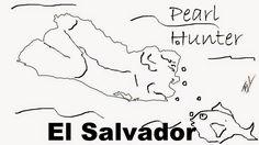 A funny map of El Salvador
