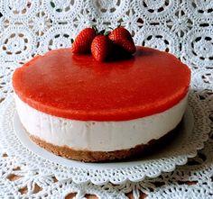 A Tavola con Mammazan: Ancora fragole?? Sììì nella CHEESE CAKE ALLE FRAGO...