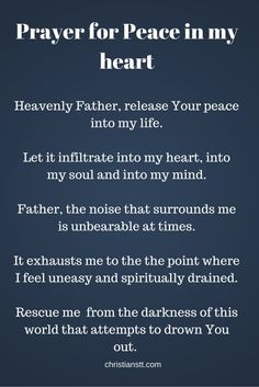Prayer for peace in my heart catholic prayer for peace, catholic prayers for strength, Prayer Times, Prayer Scriptures, Bible Prayers, Catholic Prayers, Prayer Quotes, Faith Quotes, Bible Quotes, Quotes For Peace, Spiritual Quotes