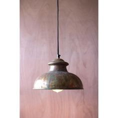 Patina Pendant Lamp