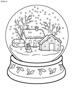 Printable coloring pages for kids.free online Printable christmas snow globe coloring pages for preschool. snow Printable christmas snow globe coloring pages for kids - Printable Coloring Pages For Kids Coloring Pages Winter, Coloring Book Pages, Printable Coloring Pages, Free Coloring, Coloring Pages For Kids, Kids Coloring, Printable Christmas Coloring Pages, Christmas Coloring Sheets, Dinosaur Coloring