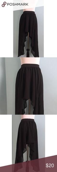 Dip Hem👇🏼Clothing\ - black skirt halloween costume ideas