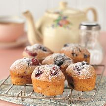 Hazelnut and Mixed Berry Friands