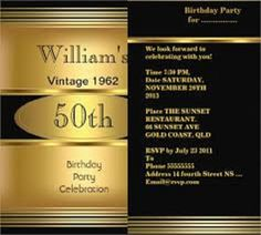 50th Birthday Invitations Male Free 50 Geburtstags Party Einladungen Einladungskarten Geburtstagspartys