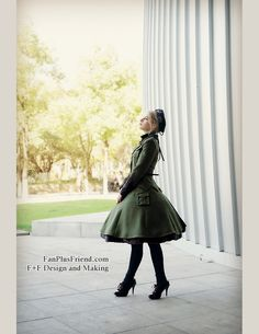 fanplusfriend - Steel Rose, Military Lolita Steampunk Long Sleeves Uniform Jacket*2colors Instant Shipping, $78.00 (http://www.fanplusfriend.com/steel-rose-military-lolita-steampunk-long-sleeves-uniform-jacket-2colors-instant-shipping/)