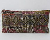 10x20 eclectic kilim pillow lake house decor lumbar decorative pillow kilim pillow sets patio pillow case vintage fabric kilim cushion 29168
