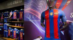 New home kit for season 2016-17 #FCBarcelona #FCB #Shop #Store #FansFCB #CampionsFCB